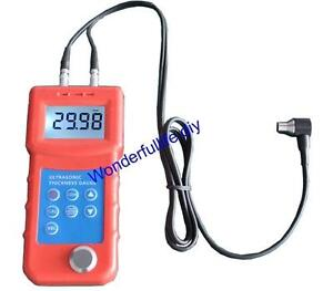Precise Ultrasonic Thickness Gauge Metal Thickness Tester 1 300mm 0 5mm