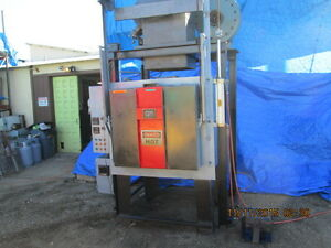 Gm 1300 Degree Atmospheric Type Burn Out Oven Furnace 36 X 36 X 24 Id