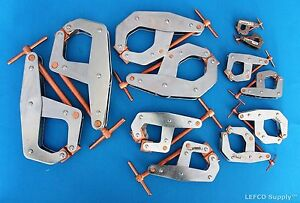 Kant Twist Clamps Set Of 12 New Usa Made T handle 2 X 401 405 407 410 415 420