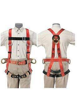 Klein Tools 87092 Premium Fall arrest retrieval Harness For Tower Work X large