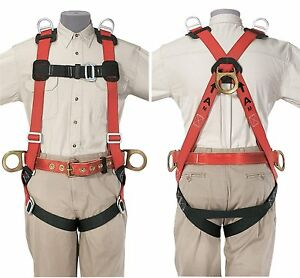 Klein Tools 87854 Fall arrest positioning retrieval Harness 2x large