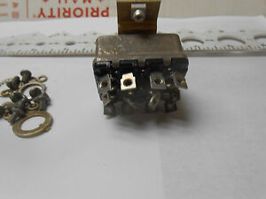 8838kp1 Toggle Switch On off on 3 Positions Maintain With Bracket Nos