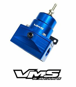 Blue Vms Racing Pro Series Adjustable Fuel Pressure Regulator For Chevy Corvette