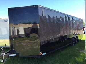 8 5x24 Blackout Enclosed Cargo Trailer