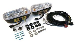 4 Universal Snow Plow Halogen Headlamp Light Kits For Snowdogg