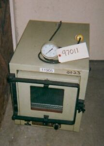 National Appliance Laboratory Vacuum Oven