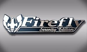 Firefly Serenity Edition Car Emblem Chrome Plastic Not A Decal Sticker