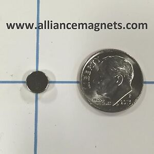 20 Pieces Rare Earth Neo Magnets Disc 0 25 X 0 1