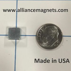 20 Pieces Rare Earth Neo Magnets Block 0 3 X 0 3 X 0 2