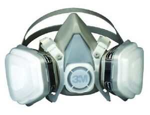 Respirator Dust Mask For Painting Large Chemical Respiration Spray Paint Odor