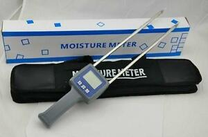 Flour Moisture Meter Humidity Tester Grain Rye Maize Coffee Flour Hygrometers