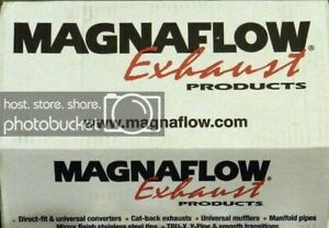 Magnaflow Performance Exhaust 18146 Glass Pack Muffler 4 In Round 2 5 In In