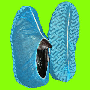 300 Disposable Shoe Covers Non skid Hvac Xl