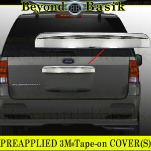 2003 2014 Ford Expedition Chrome Upper Tailgate Handle Cover Rear Hatch Trim