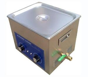 10l Ultrasonic Cleaner With Heater 240w Jewelry Watches Dental