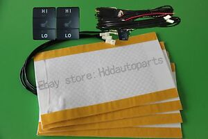 Seat Heater For New Toyota 2 Seats heated Seat for Highlander Landcruiser