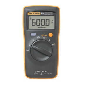 Fluke 101 Basic Digital Multimeter Genuine