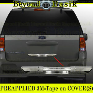 2003 2012 Ford Expedition Chrome Lower Tailgate Handle Cover Rear Hatch Trim