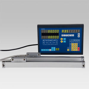 2 Axis Dro Package With Linear Glass Scales For Mill Bridgeport Precision