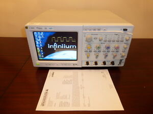 Agilent Mso8104a 1 Ghz 4 Channel 4gsa s Mixed Signal Oscilloscope Calibrated