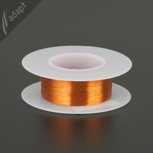 37 Awg Gauge Magnet Wire Natural 1000 200c Enameled Copper Coil Winding