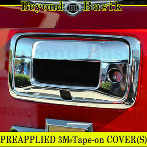 Gmc Sierra 1500 2014 2018 Chrome Tailgate Handle Cover Overlay W Camera Hole