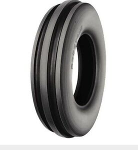 Two 400x8 4 00 8 Front 3 Rib Garden Cub Cadet Easy Steer Tractor Tires