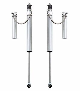 Rubicon Express 4 5 5 5 Front Monotube Reservoir Shocks 07 18 Jeep Wrangler Jk
