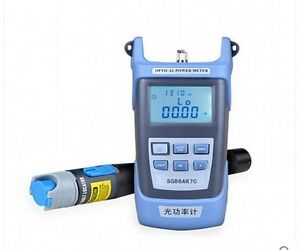 Fiber Meter Optical Power Locator Fiber Optic Cable Tester 10mw Visual Fault