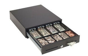 Mmf Val u Line Manual Cash Drawer 14in X 16in Black New Mmf val1416m 04