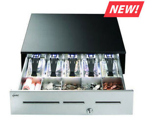 Mmf Payvue 18in X 16 7in X 4 6in Cash Drawer Led Lite Money Tray Mmf l18171 04