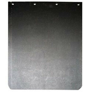 Plain Black 24 X 30 Eco flex Rubber made In The Usa Semi Truck Mud Flaps set