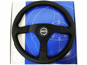 Sparco Steering Wheel Strada 350mm 39mm Dish Leather