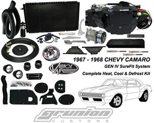 Vintage Air 1967 1968 Camaro W o Ac Heat Air Conditioning Defrost Kit 961167