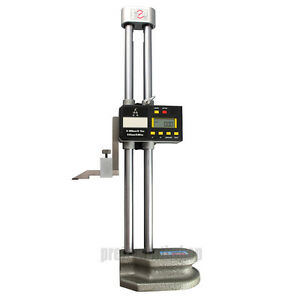 Digital Lcd Display Electronic Dual Beam Height Gage 0 500mm 20 High Precision