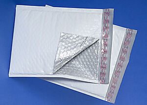 2 300 Poly Bubble Mailers 8 5x12 Plastic Padded Envelopes Self Sealing Bags