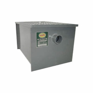 Commerical Grade Carbon Steel Grease Trap 30 Lb Pdi Approved