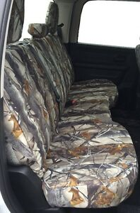 Rugged Fit Covers 2014 2017 Dodge Ram 1500 3500 Back Row Seat Covers Camo