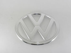 Front Nose Emblem Vw 250mm 4 Prong Fits Volkswagen Type2 Bus 1968 1972