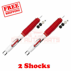 1994 01 Dodge Ram 1500 4wd 2 3 Lift Rs5000 Rancho Front Shocks