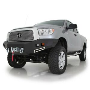 Smittybilt Front D ring Winch Bumper And Led Lights For 2007 2013 Toyota Tundra