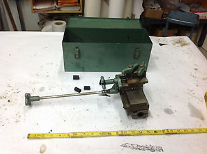 Ideal 24 033b Midget Precision Grinder Cross Table 9 1 4 Commutator Repair