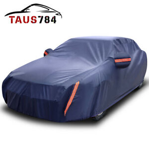 Full Car Cover Waterproof Sun Uv Rain Snow Dust Heat Resistant Protection Us