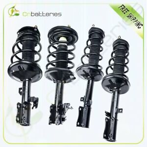 For 2002 2003 Lexus Toyota Front Rear 4 Quick Loaded Complete Struts Springs