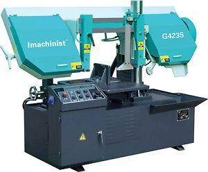 Horizontal 14 Metal Cutting Band Saw Machine 14 Inch Semi Automatic Bandsaws