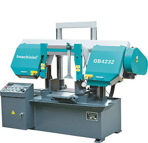 Horizontal Double Dual Column Band Saw Machine Metal Cutting Bandsaw 12 1 2