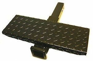 18 Hitch Receiver Tube Extension W Step 2 Sq 1804017
