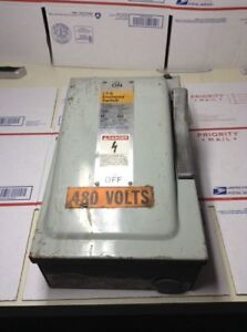 Used Siemens I t e Enclosed Switch Warranty Fast Shipping