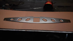 67 69 Chevy Camaro Radiator Filler Panel With Oval Dimple Holes 050 Aluminum