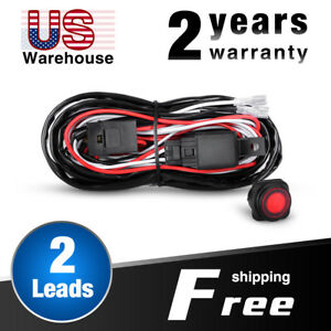 Nilight Wiring Harness Kit 2 Leads For Off Road Led Light Bar 2 Year Warranty